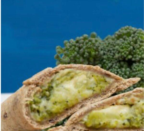 pastel de brócolis